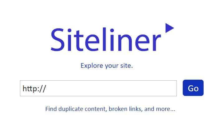 סייטליינר - Siteliner