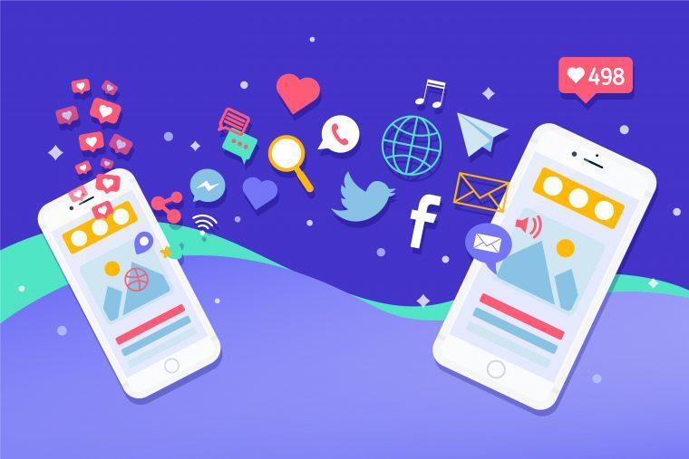 רשתות חברתיות בעולם